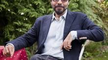 Author Pankaj Mishra at home in London. (JONATHAN WORTH/NYT)