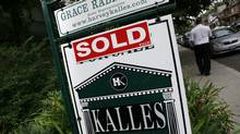 Various real estate sold signs in Toronto, Ontario, Canada (Deborah Baic/Deborah Baic for The Globe and Mail)