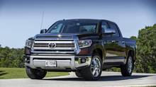 The 2014 Toyota Tundra has been given an interior makeover to appeal to the upscale customer. (Toyota)