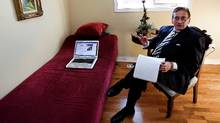 'Unless the diagnostic couch is strategically placed beneath a computer screen, it's rapidly moving to extinction,' says psychiatrist Sam Ozersky, a psychiatrist and creator of FeelingBetterNow.com. DEBORAH BAIC/THE GLOBE AND MAIL (Deborah Baic/Deborah Baic/THE GLOBE AND MAIL)