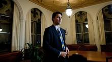 Liberal Leader Justin Trudeau takes part in an interview on Parliament Hill in Ottawa on Tuesday, December 10, 2013. (Sean Kilpatrick/THE CANADIAN PRESS)