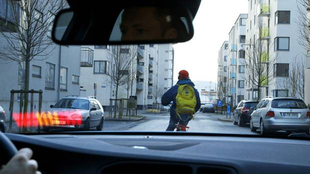 Cyclist radar: Volvo continues to push ahead with its city safety program, with the new XC60 now available with cyclist detection, as first announced last spring. Research indicated that pedestrian detection systems couldn't adequately warn of the presence of a cyclist. With Volvo's system, you will get a chime and a reflected message on the windshield if a bicycle enters the danger zone in front of the car and also for a 30-degree range to the sides. (Volvo)