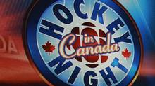 CBC's Hockey Night in Canada logo (Jeff Vinnick/The Globe and Mail/Jeff Vinnick/The Globe and Mail)