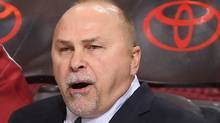 Head coach Barry Trotz will coach his 1,000th game behind the bench for the Nashville Predators on Saturday. (Photo by Christian Petersen/Getty Images) (Christian Petersen/Getty Images)