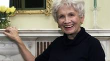 Canadian author Alice Munro has won the 2013 Nobel Prize for literature. (PAUL HAWTHORNE/ASSOCIATED PRESS)