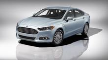 2013 Ford Fusion Energi. (Ford)