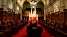 The Senate Chamber of Parliament of Canada is seen in Ottawa. (Dave Chan/Dave Chan)