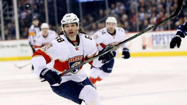 Jaromir Jagr Quietly Closes In On Second Place In NHL Career Scoring