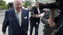Senator Mike Duffy has said there should be 'no question' of a public hearing over his expense irregularities. (Adrian Wyld/THE CANADIAN PRESS)