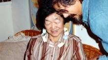David Suzuki poses with his mother, Setsu Nakamura,who died of Alzheimer's in 1984.