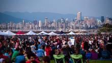 Vancouver Folk Music Festival at Jericho Beach Park, Vancouver, B.C. (Handout)