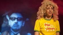 Paloma Nunez in the Alameda Theatre Company's Chile Con Carne. (Edgardo Moreno)