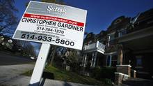 Montreal housing for sale. (Christinne Muschi/Globe and Mail/Christinne Muschi)