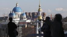 In recent years, St. Petersburg has shrunk the size of heritage zones, leaving historic buildings unprotected. Alexander Demianchuk / Reuters (REUTERS)