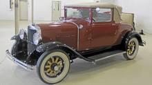1929 Graham-Paige 612 Cabriolet. (Andrew Gretzinger)