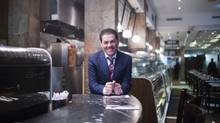 Mohammed Faki, CEO of Paramount Fine Foods, wants to alter the way that people look at Middle Eastern food, giving them a quality dining experience. (Michelle Siu For The Globe and Mail)