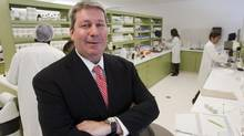 Valeant CEO Michael Pearson told analysts Tuesday that he expects more than $225-million annually in synergies from proposed acquisition of Medicis. (Ryan Remiorz/THE CANADIAN PRESS)