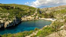 Scenes from the new Brad Pitt and Angelina Jolie film By the Sea were filmed in the scenic bay of Mgarr ix-Xini on Gozo. (Amy Laughinghouse)