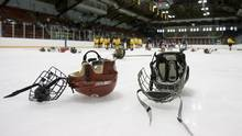 Minor hockey parents in Calgary will soon have to take a refresher every four years of an online course designed to limit bad behaviour at the rink. (Peter Power/The Globe and Mail)