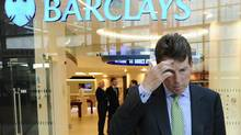 Bob Diamond waits to pose for photographs after being named Barclays' next chief executive officer in London in this Sept. 7, 2010 file photo. (DYLAN MARTINEZ/REUTERS)