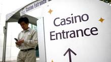 Edgewater Casino entrance seen here August 29, 2006 in Vancouver. (Rafal Gerszak/ The Globe and Mail/Rafal Gerszak/ The Globe and Mail)