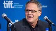 "Director Bill Condon answers a question during a press conference for the movie ""The Fifth Estate"" during the 2013 Toronto International Film Festival in Toronto on Friday, Sept. 6, 2013. (Galit Rodan/The Canadian Press)"