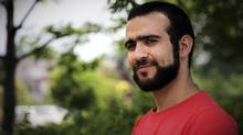 Former Guantanamo Bay prisoner Omar Khadr, 30, is seen in Mississauga, Ont., on Thursday, July 6, 2017. (Colin Perkel/The Canadian Press)