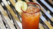 A michelada is pictured at the Beverly Hotel in Toronto on Thursday, June 19, 2014. (Matthew Sherwood For The Globe and Mail)