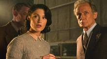 Gemma Arterton, left, and Bill Nighy are seen in Their Finest. Arterton plays Catrin Cole, a woman who ascends from her place as a faithful stay-at-home partner to bona-fide screenwriter who helps shape a propaganda film about a wartime rescue.