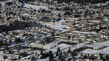 Rio Tinto Alcan's Kitimat smelter is set to undergo an upgrade, which will bring 600 construction workers to the small community. (Darryl Dyck/The Canadian Press)
