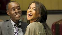 """Don Cheadle and Megalyn Echikunwoke in """"House of Lies"""" (Showtime)"""