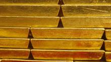 Gold bars are seen in this file photo. (Petr David Josek/AP)