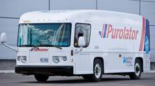 In 2008, Unicell and ArvinMeritor developed the 'Quicksider' prototype of a fully electric delivery vehicle designed for Purolator. (Glenn Lowson/Glenn Lowson for The Globe and Mail)