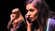 Jessica Munk and Erum Khan in Concord Floral. (Erin Brubacher/Erin Brubacher)