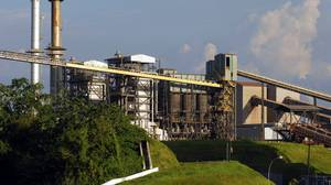 Vale's aluminium refinery in Barcarena, in the northen Brazilian state of Para