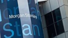 Morgan Stanley's New York headquarters are seen at 48th Street and Broadway. (ANDREW BURTON/Reuters)