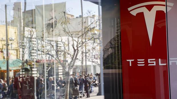 Tesla Opening Gallery Within U S Nordstrom Store The