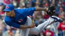Toronto Blue Jays pitcher Sergio Santos (Nathan Denette/THE CANADIAN PRESS)