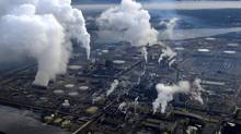 Syncrude's oil sands up-grader facility located north of Fort McMurray, Alta. (Kevin Van Paassen/The Globe and Mail)