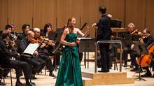 Soprano Layla Claire and the Toronto Symphony Orchestra.