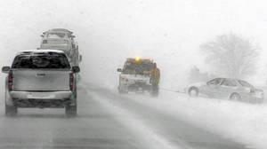 Why let a little thing like blizzard conditions make you 10 minutes late for work?