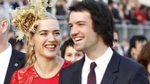 Winslet wed her third husband, Ned RocknRoll, a nephew of Richard Branson, last month. (TYRONE SIU/REUTERS)