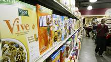 "Food giant Kellogg said it would be changing some product formulas and removing ""all natural"" and ""nothing artificial"" from some Kashi brand products in the United States as part of a legal settlement. (M. Spencer Green/The Canadian Press)"
