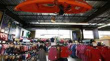 Mountain Equipment Co-op store at the King Street West location in Toronto, Ont. (Deborah Baic/The Globe and Mail)