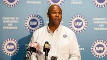 "Ray Curry, director of the UAW's Region 8, is pictured on Friday, Dec. 4, 2015. ""The UAW thanks Magna for providing a workplace that truly fosters a harmonious environment,"" he said in a statement. (Erik Schelzig/AP)"