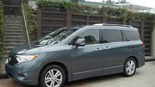 2011 Nissan Quest (Ted Laturnus for The Globe and Mail)
