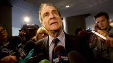 The Deputy Mayor Norm Kelly answers questions from members of the media in Toronto on November 04, 2013. (Deborah Baic/The Globe and Mail)
