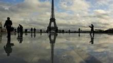 Among the French attractions are 'cash boxes' and 'two-pillar' stocks, like Installux and Nexeya. (MUHAMMED MUHEISEN/AP)