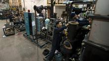 The Parliamentary Budget Office has calculated that Canada's economy would have 130,000 more jobs if it were operating at capacity. (Kevin Van Paassen/The Globe and Mail)