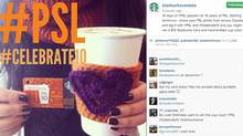 Photo from Starbucks' Instagram account